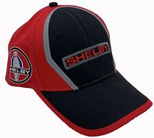 Shelby Logos & Signature Red & Black Hat * Must Have For Mustang & Cobra Owners!