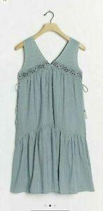 Anthropologie Aida Embroidered Mini Dress Size M