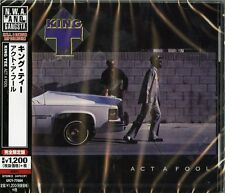 KING TEE-ACT A FOOL-JAPAN CD Ltd/Ed C15