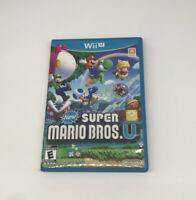 New Super Mario Bros. U (Nintendo Wii U, 2012) Complete CiB Tested & Working