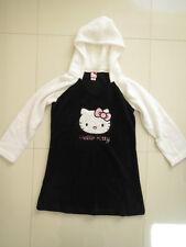 BN Hello Kitty Ladies Black/White Hooded Robe   Size M/M