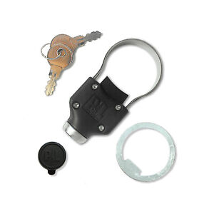 Pop & Lock PL9900 Universal Black Gate Defender Tailgate Collar Lock for Trucks