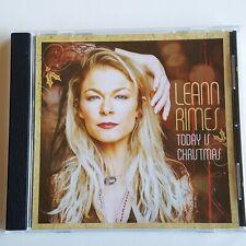 LeAnn Rimes Today is Christmas Album Promo Sampler 6 Tracks only 2015 RARE