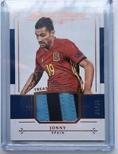 Panini National Treasures 2018 Treasured Threads Jonny Spain sick patch 31/35 MT