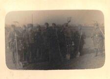 Orig. Foto deutsche Soldaten Arbeitskommando Agram (Zagreb) Balkanfeldzug 2.WK
