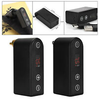 Wireless Tattoo Pen Battery Pack Power Supply RCA/DC Tattoo Rotary Machine
