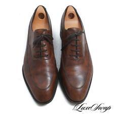 #1 MENSWEAR John Lobb England Vienna II Prestige Last Museum Brown Shoes 10 E NR