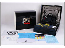 New Nikon F3 HP Limited 35mm SLR Camera Body in black #hk2973X