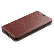 BROWN WALLET LEATHER SKIN ACCESSORY COVER CASE For LG Stylus 3 / Stylo 3 / LS777