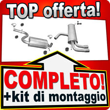 Scarico Completo SEAT LEON (1P1) / SEAT ALTEA 1.4 TSI Marmitta T88