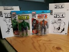MARVEL LEGENDS RETRO HULK LOT GREEN AND GREY