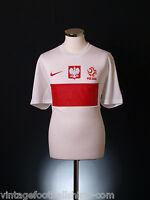 2012-13 Poland Stadium Nike Football Home Jersey Shirt *BNIB* S-M-L-XL-2XL