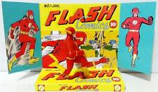 The FLASH Comic Superhero Action Figure on Custom Design Display Diarama Diorama