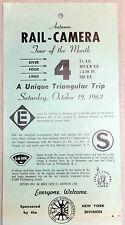 1963 RAIL CAMERA TOUR ON E-L R.R. NYS & W R.R. L & HR RY AND CNJ R.R.