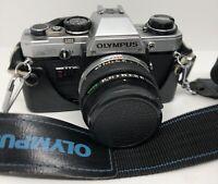 Olympus OM10 Camera with 50mm F1.8 Lens