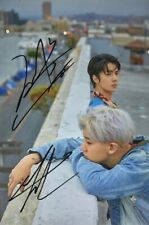 Signed EXO SEHUN Autographed Photo K-POP 4*6 free shipping  062017