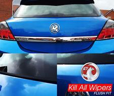 Vauxhall Astra H / MK5 - Rear / Back Dewiper Blank Bung Wiper Delete Kit - Flush