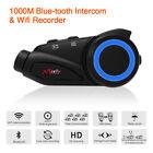 1000m Sony HD Motorcycle Group Intercom Helmet FM Bluetooth Wifi Recorder !