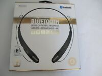Sentry Deluxe Bluetooth, Rechargeable Wireless On The Neck Ear Buds, BT900
