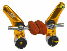 Dia-Compe 988 BMX or MTB Bicycle Cantilever Brake Caliper - GOLD ANODIZED
