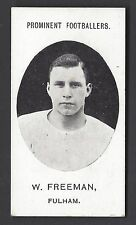 More details for taddy - prominent footballers (with footnote) - w freeman fulham