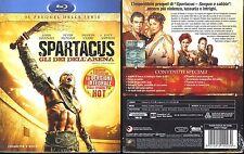 Spartacus. Gli dei dell'arena (2010) Cofanetto 3 Blu-ray NUOVO Version Integrale