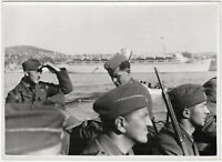 Freiwillige der Legion Condor. Original-Pressephoto, von 1939