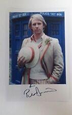 """DOCTOR WHO - Male Actor Peter Davison 6""""X4"""" Autograph Reprint Photo Colour Pic"""