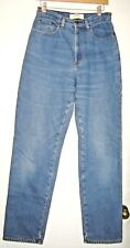 Size 10 Tall -L.L. Bean Flannel Lined Double L Relaxed Fit Jeans  28 X 31 1/2