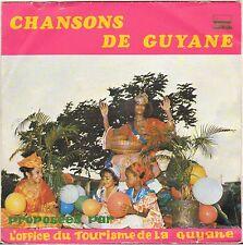 "WANTED & CO + 3 ""CHANSONS DE GUYANE"" BIGUINE FUNK EP MUSIC CONTROL CAP 37044"