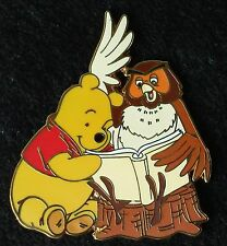 2007 WINNIE THE POOH & GANG BOOSTER COLLECTION POOH & OWL WITH A BOOK DISNEY PIN