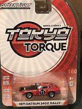 Greenlight Tokyo Torque  series 2  1971 Datsun 240Z Edgar Hermann #11