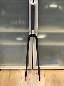 """Carbon Fibre Road Bike Forks 700 / 1"""" - 376g"""
