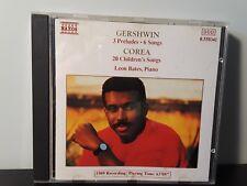 Gershwin: 3 Preludes; 6 Songs; Chick Corea: 20 Children's Songs - Leon Bates (CD