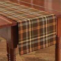 Bountiful Table Runner Park Designs Fall Autumn Thanksgiving Dining Kitchen 36L