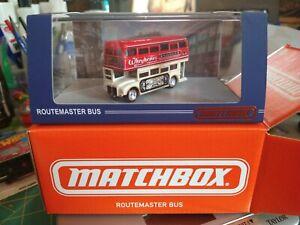 Matchbox 2021 Mattel Creations Routemaster Bus