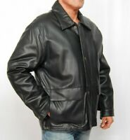 H551 Neuware Herren Lederjacke Leder Jacke REAL Men Leather Jacket coat  Gr. 50