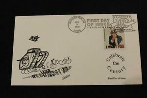 1ST DAY ISSUE 1998 CELEBRATE THE CENTURY U.S. ENTERS WW 1 FDC BY SHADOW (1077)