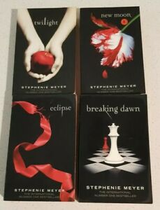 TWILIGHT SERIES COMPLETE by Stephenie Meyer RED EDGED Special Edition