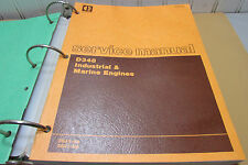 Caterpillar D348 Industrial and Marine Engines Service Manual 36J1-UP 38J1-UP
