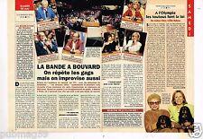 Coupure de presse 1994 (2 pages) Les Grosses Tetes Bande à Bouvard
