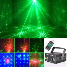 LED Laser Projektor 48Motiven Bühnenlicht DJ Disco Party Lichteffekt Licht Lampe