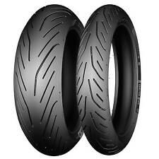 Pair Of 120/70/17 & 180/55/17 Michelin Pilot Power 3 Motorcycle/Bike Tyres