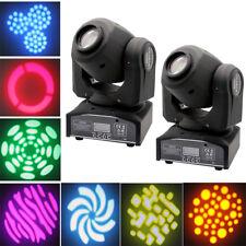 2pcs 30W Mini LED Laser Projecteur Jeu de Lumiere Stage Pour DJ Disco Eclairage