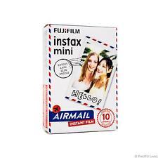 Fuji Instax MINI- FILM AVION 10 feuilles pour 7 8 9 70 Néo 90 Polaroid 300