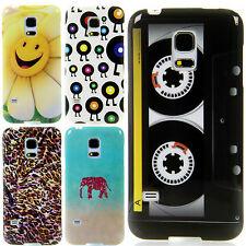 Apple iPhone 5 / 5S / SE  TPU Silikon Case Handy Schutz Hülle Cover Etui Motiv