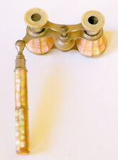 Unusual Extending Vintage Edwardian Mother-Of-Pearl Opera Glasses, France