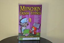 Munchkin Grimm Tidings Expansion Steve Jackson Games Exclusive NEW Card Game