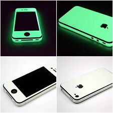 Apple iPhone 4 4S 5 5S Glow in the Dark Luminescent Luminous Full body Skin Wrap
