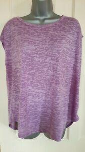 SOULUXE - BNWT Two-Tone Pink Camo Print Peep-hole Back Baggy T Shirt M